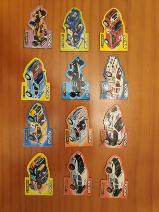 Cromos Bollycao Scalextric coches