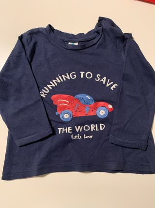 Camiseta manga larga 12 meses