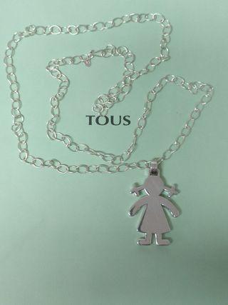 cadena y colgante Tous