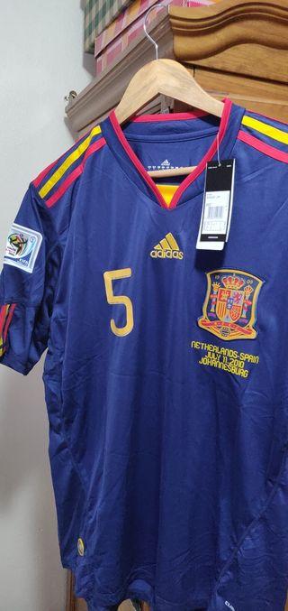 camiseta de fútbol Puyol España