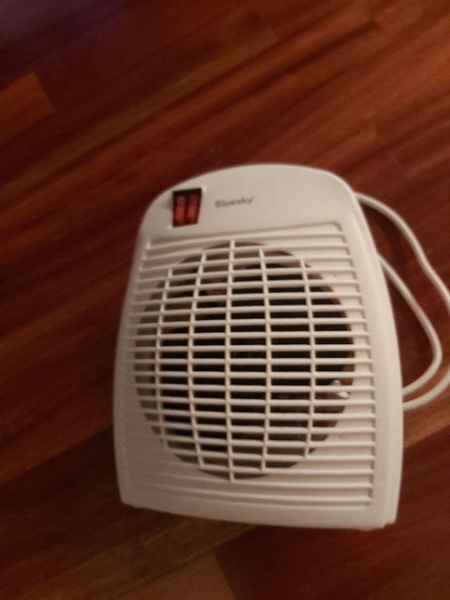 calefactor, eléctrico por ventilación