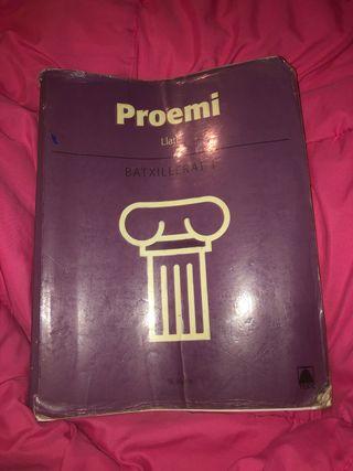 Proemi llatí 1r batxillerat