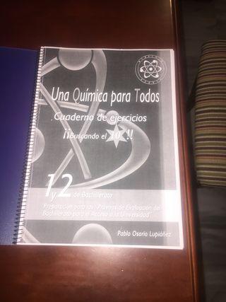 Una química para todo,cuaderno ejercicios( fotocop