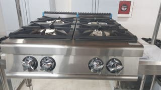 cocina 4 fuegos industrial de mesa