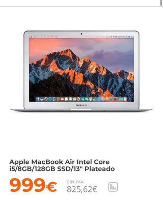 MacBook Air 13 a estrenar