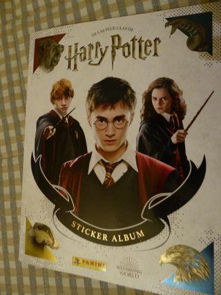 Cromos colección Harry Potter