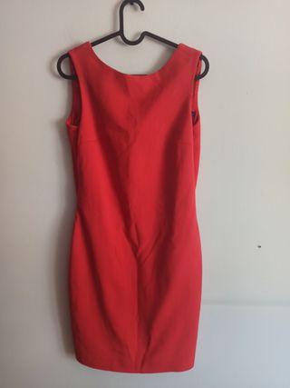 Vestido Rojo Zara