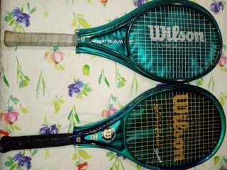 Raquetas Wilson originales.