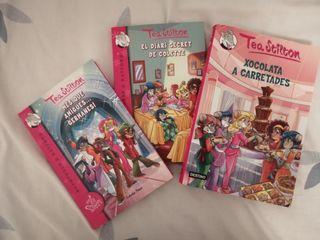 libros de Tea Stilton(en valenciano)
