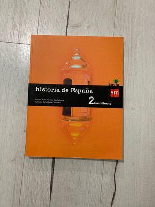Historia de España 2°bachillerato Savia