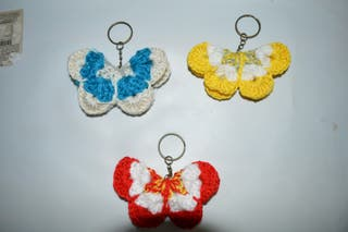 Mariposas de lana