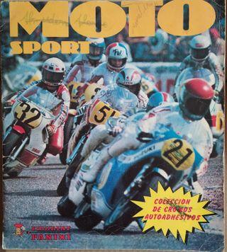 ALBUM DE CROMOS MOTO SPORT PANINI 1980