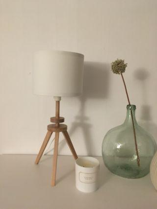 Lámpara de mesa Lauters trípode Ikea
