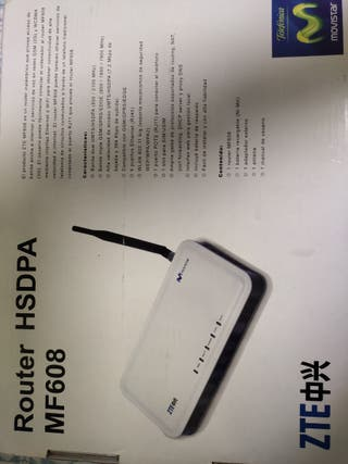 Router HSDPA MF608