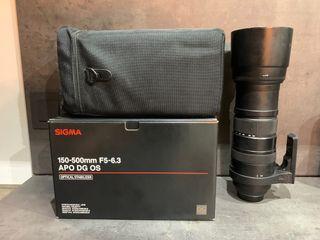Sigma 150 500 para Nikon
