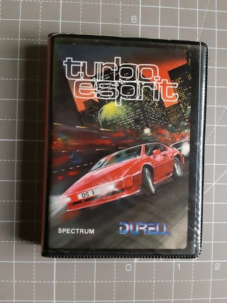 Turbo Esprit Sinclair Zx Spectrum Erbe estuche