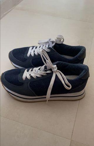 zapatillas pull&bear 36 /deportivas/bambas/zapatos
