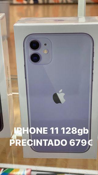 iPhone 11 128gb PRECINTADO LILA
