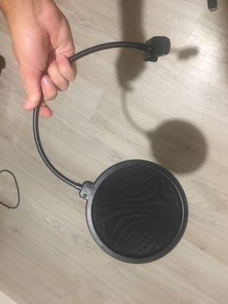 Filtro Antipop micrófono.
