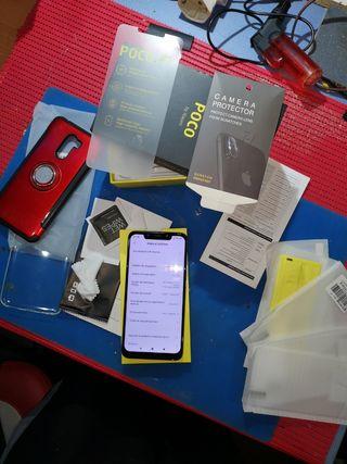 Xiaomi Pocophone F1 carcasa y protectores