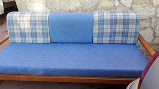 sofá madera 1.95x95