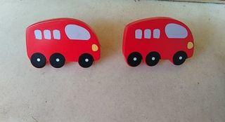 Tiradores infantiles autobús