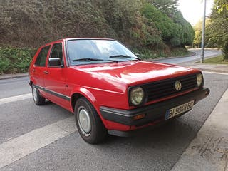 Volkswagen Golf del año 1990