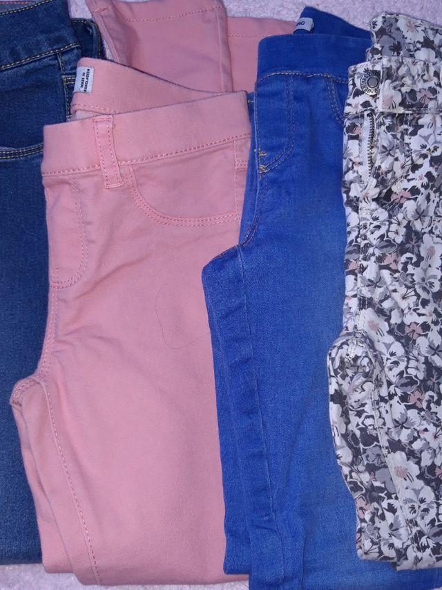 Lote pantalones T.6 años