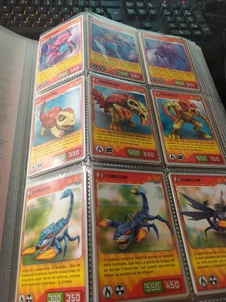 invizimals card varias colecciones