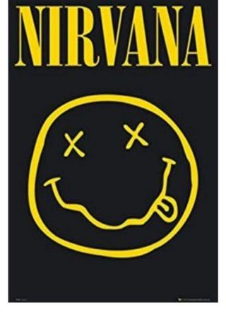 NUEVO! Póster NIRVANA cara sonriente