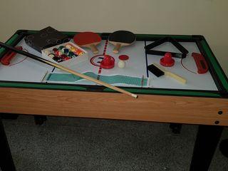 mesas convertible 3 juegos