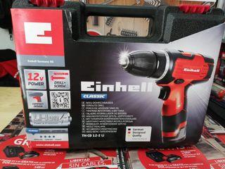 Taladro atornillador a bateria Einhell TH-CD 12-2