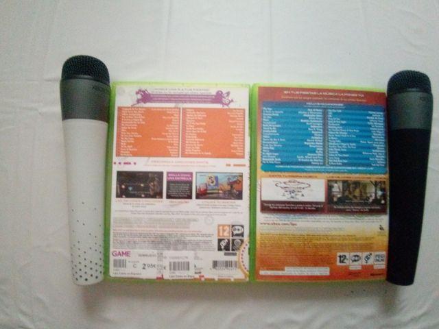 Micrófonos Karaoke Xbox 360