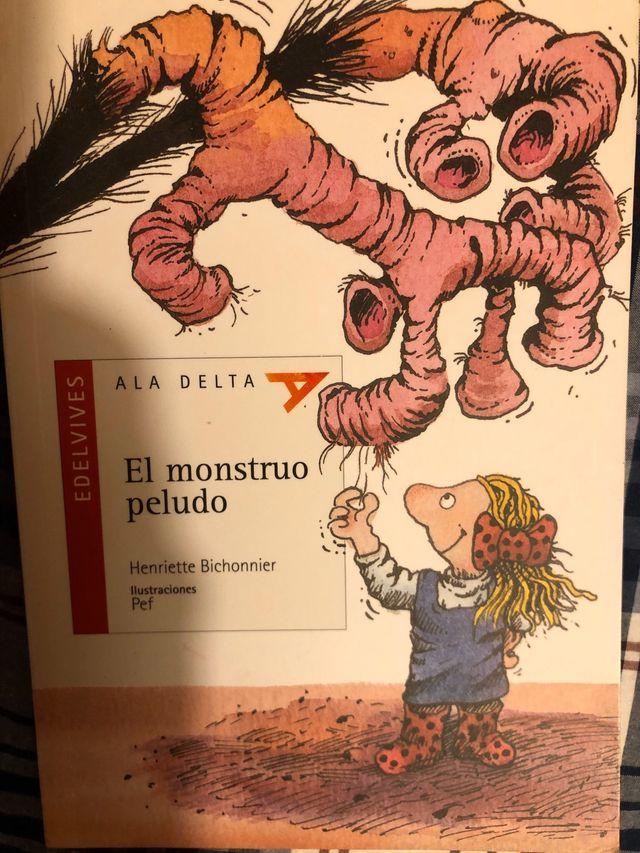 Libro El Monstruo Peludo