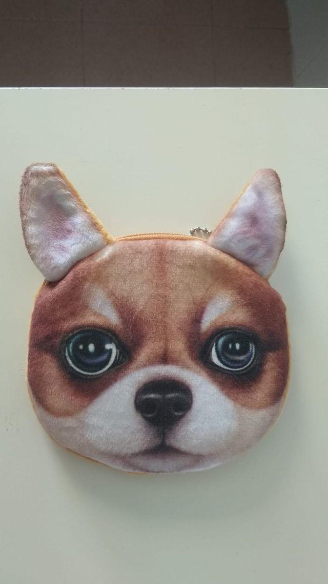 Monedero perro