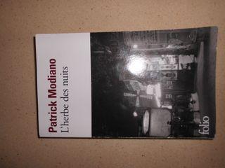 "Libro ""L'herbe des nuits"" de Patrick Modiano"