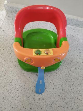 silla de baño para bebe