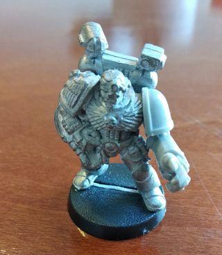 Médico apotecario marine espacial Warhammer 40k