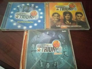 vendo CDs de operación triunfo 1