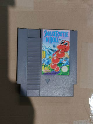 Juego snake rattle and roll nintendo nes