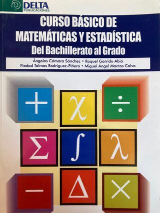 Curso básico de matemáticas y estadística