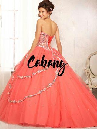 vestido de quinceañera