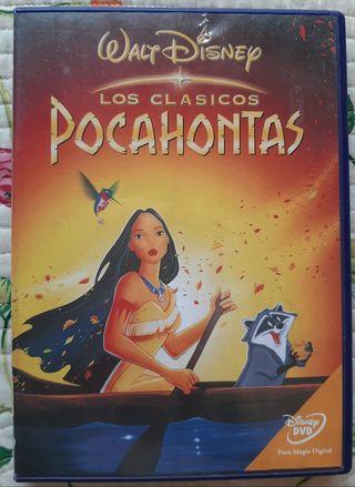 DVD Pocahontas Disney