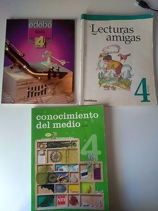 Libros de 4° de primaria