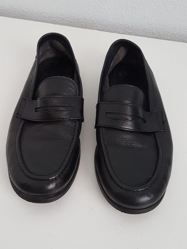 zapatos niño de comunión