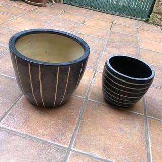 Maceteros macetas cerámica decoración