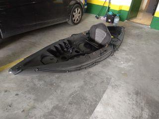 """Kayak de pesca""""Galaxy Cruz"""" con caña"""