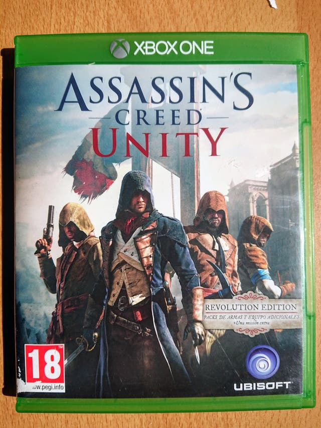 Assassins Creed Unity. Xbox One