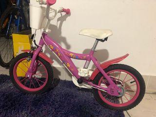 Bicicleta infantil rosa PinYPon