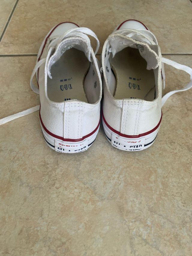 Converse originales blancas talla 37